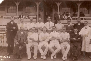 The Eagle Cricket Club, 1911
