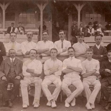 The Eagle Cricket Club, 1911