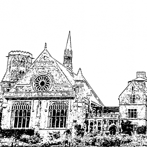 An image of Homertons Great Hall where the concert will be held