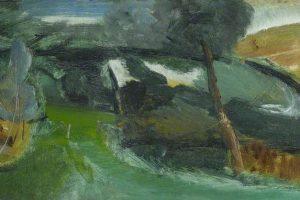 Ivon Hitchens's painting Damp Forest Walk