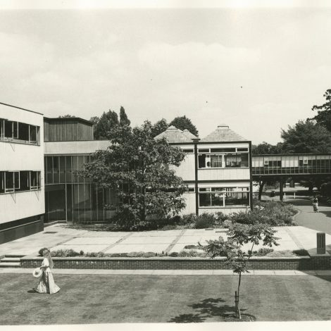 The Black and White Buildings