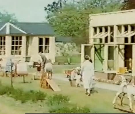 A still from the film of Homerton nursery