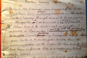 Chapman's notebook