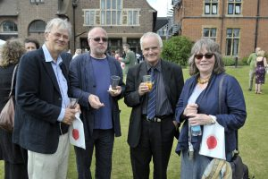 Philip Rundall, John Hopkins, Peter Maxwell Davies, and Anne Thomson at the Charter Event 2010