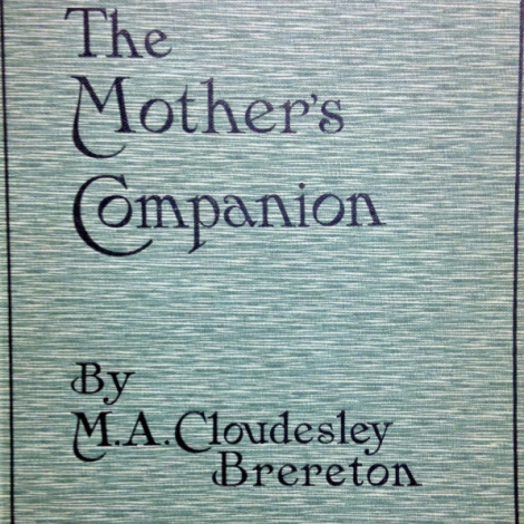 Maud's book, A Mother's Companion